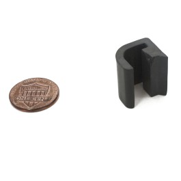 Clip for Control Box Lid Hinge (Penny shown for scale)
