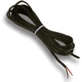 GTO RB509100 Low Voltage Wire, 16 Ga., Dual Stranded, per foot (100'Roll)
