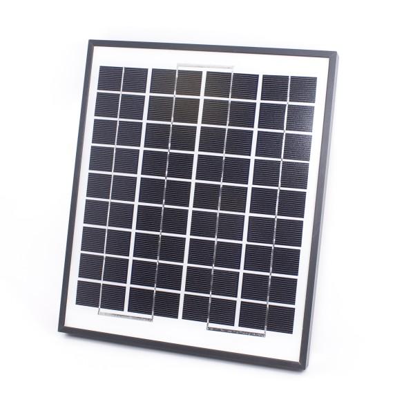 GTO FM123 Solar Panel 10Watt 600mA with all Mounting Equipment