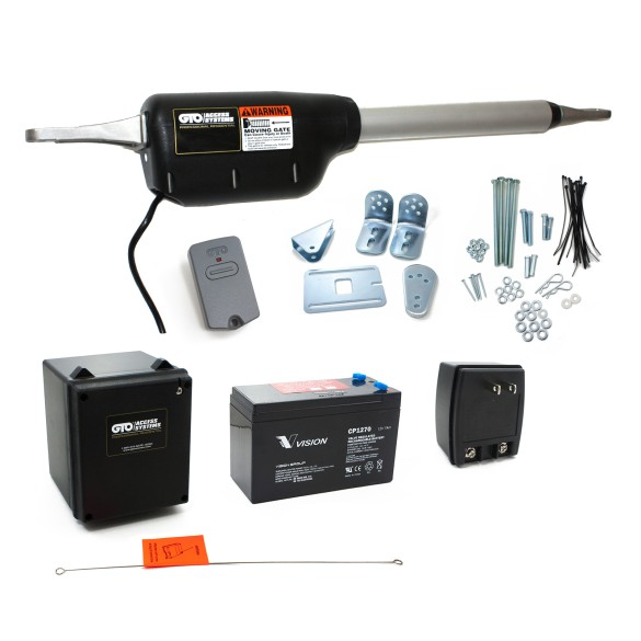 GTO/Linear Pro Swing Gate Operator Kit, Usage Up to 500lb or 16ft - PRO-SW2000XLS
