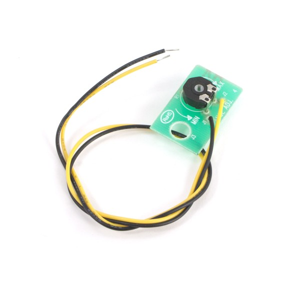 PC Board with Tuning Pot for Vehicle Sensor Exit Wands