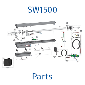 GTO / Linear Pro sw1500 gate opener parts