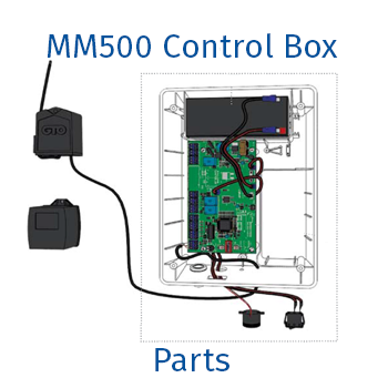 Mighty Mule MM500 control box parts