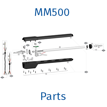 Mighty Mule MM500 gate opener parts