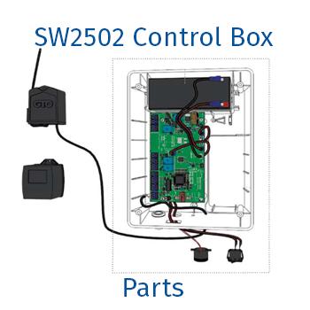 GTO / Linear Pro sw2502 control box parts