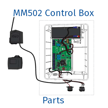 Mighty Mule MM502 control box parts