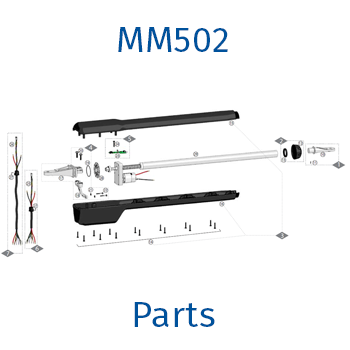 Mighty Mule MM502 gate opener parts